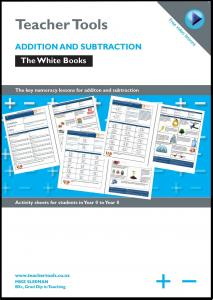 Tips and tricks teacher tools new zealand addition and subtraction the white books multiplication ibookread Read Online